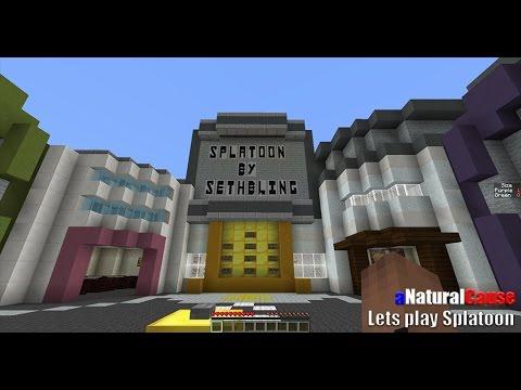 Splatoon in Minecraft