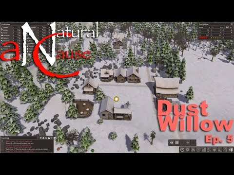 Lets Play Banished [Ep. 5] – Dust Willow – The city could not be saved