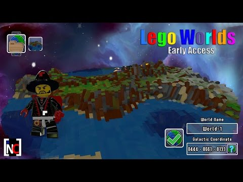 Lego Worlds – Early Access – Getting a feel of the game